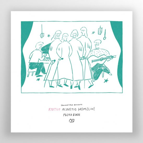 RYUTist ACOUSTIC HOME LIVE PHOTO BOOK