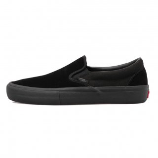 <img class='new_mark_img1' src='https://img.shop-pro.jp/img/new/icons14.gif' style='border:none;display:inline;margin:0px;padding:0px;width:auto;' />【VANS】VANS SLIP-ON PRO (BLACK OUT)