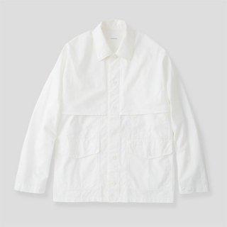 【S H/エスエイチ】MACKINAW SHIRT (WHITE)