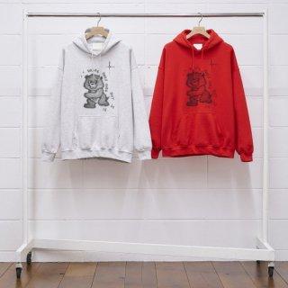 【UNUSED/アンユーズド】 US1923 × T-BONE FLETCHER sweat hoodie
