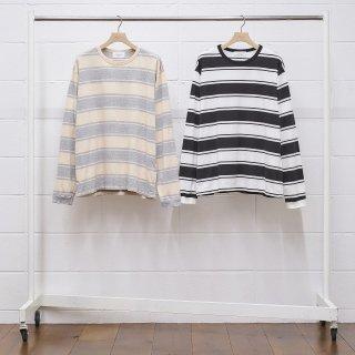 【UNUSED/アンユーズド】US1949 Long sleeve border t-shirt.