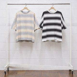 【UNUSED/アンユーズド】US1951 Short sleeve border t-shirt.