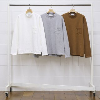 <img class='new_mark_img1' src='https://img.shop-pro.jp/img/new/icons14.gif' style='border:none;display:inline;margin:0px;padding:0px;width:auto;' />【UNUSED/アンユーズド】US2045 Mockneck long sleeve t-shirt.