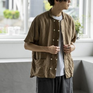 """<img class='new_mark_img1' src='https://img.shop-pro.jp/img/new/icons13.gif' style='border:none;display:inline;margin:0px;padding:0px;width:auto;' />ANOTHER 20th CENTURY Bio Koch SS Shirts """"Fawn""""[フォーン]"""