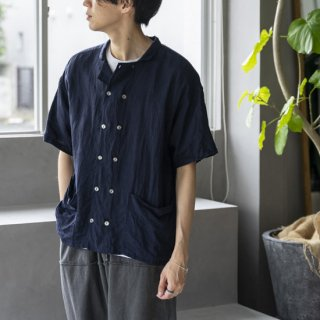 """<img class='new_mark_img1' src='https://img.shop-pro.jp/img/new/icons13.gif' style='border:none;display:inline;margin:0px;padding:0px;width:auto;' />ANOTHER 20th CENTURY Bio Koch SS Shirts """"Navy""""[ネイビー]"""
