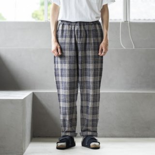 """<img class='new_mark_img1' src='https://img.shop-pro.jp/img/new/icons13.gif' style='border:none;display:inline;margin:0px;padding:0px;width:auto;' />weac. THAI KICK PANTS """"BEIGE CHECK""""[ベージュチェック]"""