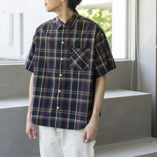 """<img class='new_mark_img1' src='https://img.shop-pro.jp/img/new/icons13.gif' style='border:none;display:inline;margin:0px;padding:0px;width:auto;' />N.O.UN MINI COLLAR CHECK """"BROWN CHECK""""[ブラウンチェック]"""