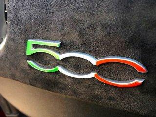 アバルト・フィアット500 インパネ500デカール(各色)