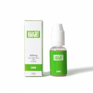HAIGHT CBD / FULL SPECTRUM CBD 4% ELIQUID  - LIME
