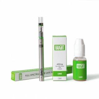HAIGHT / FULL SPECTRUM CBD 4% LIQUID+PEN SET - LIME