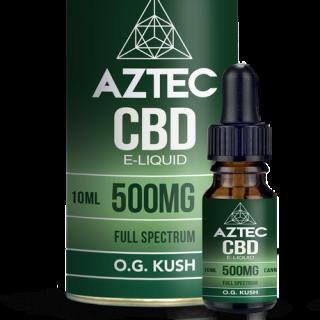 AZTEC / FULL SPECTRUM CBD 5% ELIQUID 10ml / 500mg - O.G.KUSH