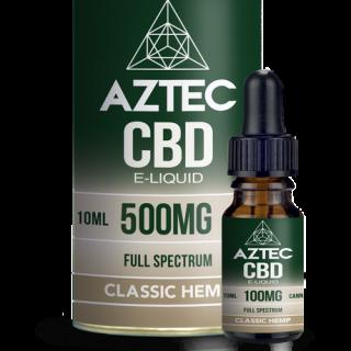 AZTEC / FULL SPECTRUM CBD 5% ELIQUID 10ml / 500mg - Classic Hemp