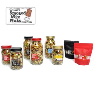 MUNCHIE FOODS / SMOKED MIX NUTS × HAIGHT - 480g