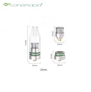 LONGMADA / CRYSTAL - GLASS WAX ATOMIZER