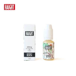 HAIGHT CBD / FULL SPECTRUM CBD 4% ELIQUID  - BERRY BLACK