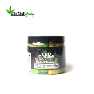 HEMP BABY / CBD GUMMIES (100pcs) - CBD 2500mg,CBN 500mg