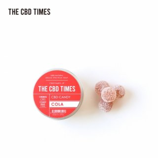 THE CBD TIMES / CBD CANDY (7pcs) - COLA / 140MG