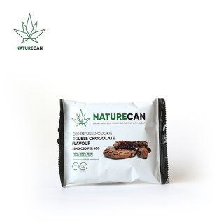 NATURECAN / CBD INFUSED COOKIE - DOUBLE CHOCOLATE  / CBD 25mg