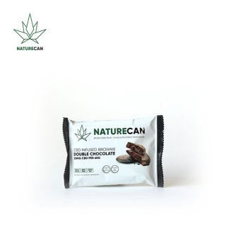 NATURECAN / CBD INFUSED BROWNIE - DOUBLE CHOCOLATE  / CBD 25mg
