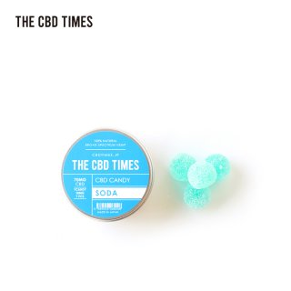 THE CBD TIMES / CBD CANDY (7pcs) - SODA / 70MG