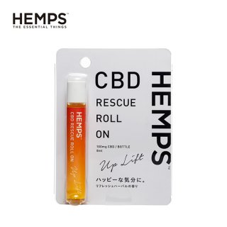 <img class='new_mark_img1' src='https://img.shop-pro.jp/img/new/icons15.gif' style='border:none;display:inline;margin:0px;padding:0px;width:auto;' />HEMPS / CBD RESCUE ROLL ON - UP LIFT / 8ml / 100mg