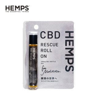 <img class='new_mark_img1' src='https://img.shop-pro.jp/img/new/icons15.gif' style='border:none;display:inline;margin:0px;padding:0px;width:auto;' />HEMPS / CBD RESCUE ROLL ON - MEDITATOR / 8ml / 108mg