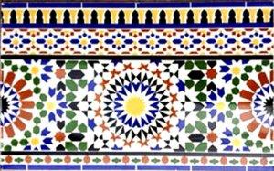 モロッコ タイル M