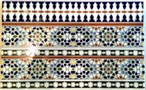 モロッコ タイル P
