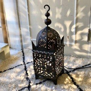 アイアンランプ  モスク/ダークブラウン