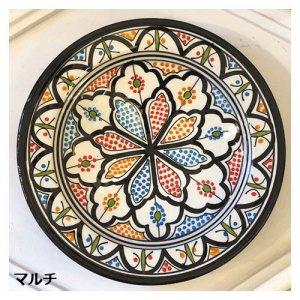 モロッコ 絵皿  マルチ S/M/L/XL