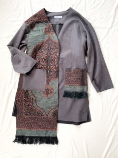 newment vintage light Arabian rug  jacket No.24