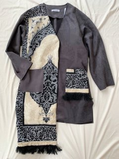 newment vintage light Arabian rug  jacket No.22