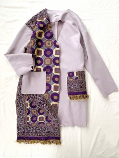 newment vintage light Arabian rug  jacket No.15