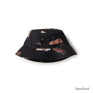 "RAW × INTERBREED ""Package Textile Hat"" / Black"