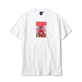 """Ernie Paniccioli for INTERBREED """"The Fugees '93 SS Tee"""" / White"""