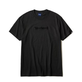 Pile Patched Logo SS Tee / Black