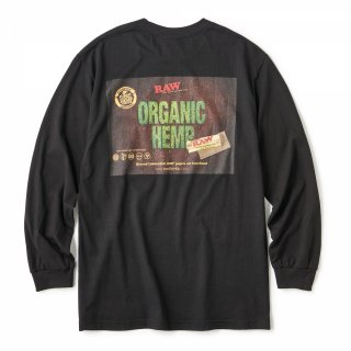 "RAW × INTERBREED ""RAW Organic LS Tee"" / Black"