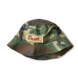 "RAW × INTERBREED ""Rollers bucket Hat"" / Camo"
