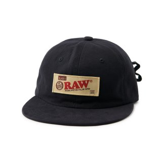 "RAW × INTERBREED ""Rollers Cap"" / Black"
