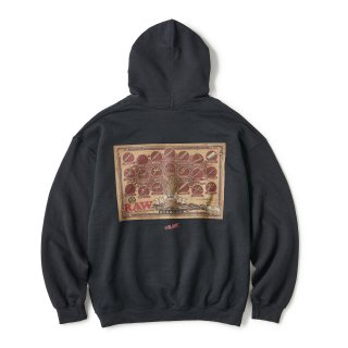 "RAW × INTERBREED ""Tree of RAW Hoodie"" / Black"