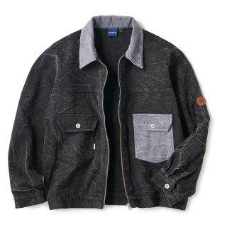 Cracked Duck Jacket / Black