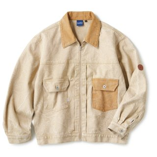 Cracked Duck Jacket / Sand