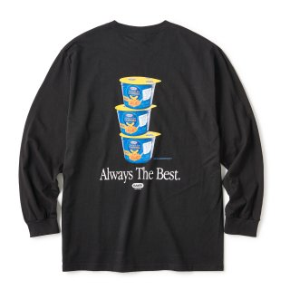 Mac'n Cheese LS Tee / Black