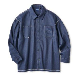 Flip Shirt / Navy