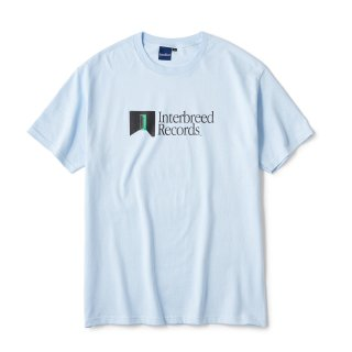 Green Studio SS Tee / Smoke Blue