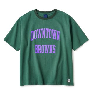 BROWNS College SS Tee / Forest Green