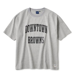 BROWNS College SS Tee / Heather Grey