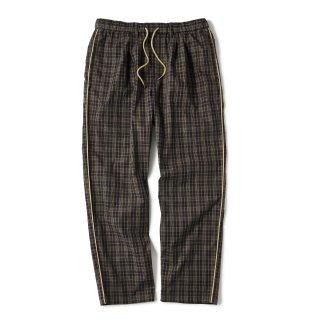 Plaid Summer Pants / Brown Plaid
