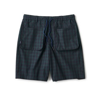Plaid Summer Shorts / Black Watch