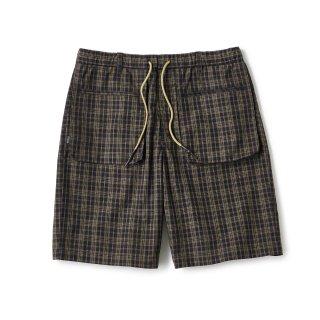 Plaid Summer Shorts / Brown Plaid